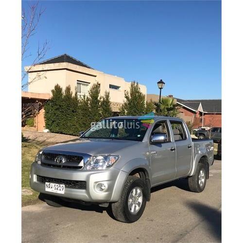 Toyota hilux sr 2011 - impecable -único dueño