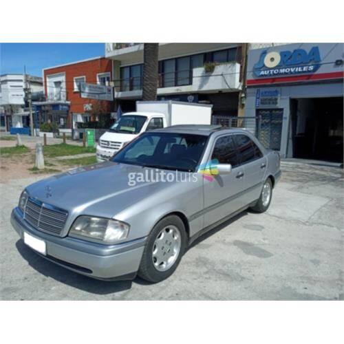 Mercedes benz c 180 nafta, elegance, full, manual, con techo