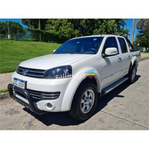 Vende camioneta wingle 5e 4x4 - 2018 - nafta - descuenta iva
