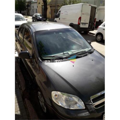 Chevrolet aveo, unico dueño. 120.000 km año 2010.u$s 8.500.-
