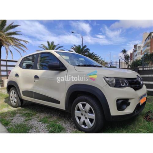 Renault kwid. única dueña. 2018
